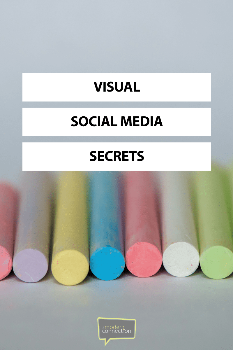 Visual Social Media Secrets