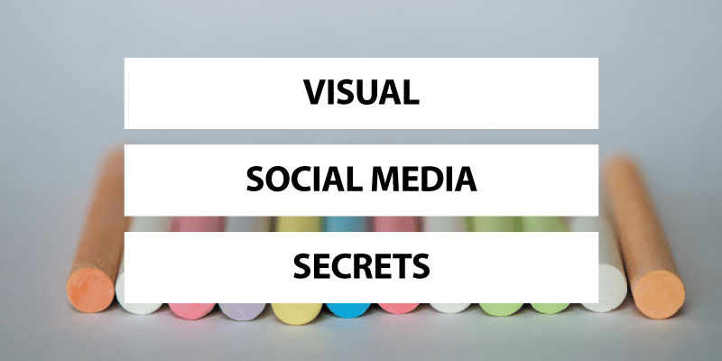 Visual Social Media Secrets