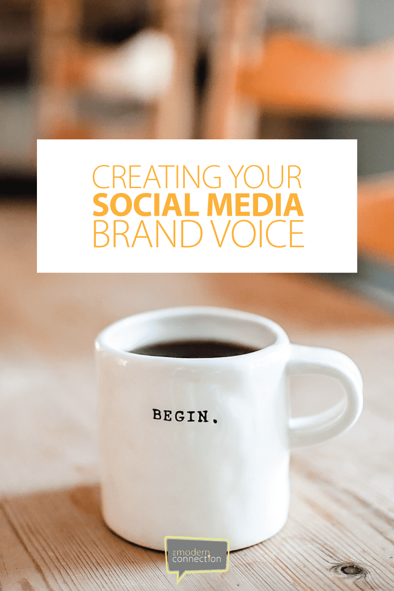 Creating Your Social Media Brand Voice