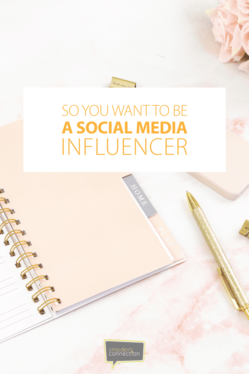 So You Want To Be A Social Media Influencer